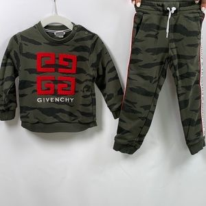 Givenchy Kid's Tracksuit Set Size:2 top/ 3 bottom
